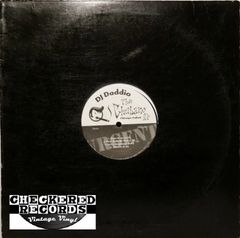 DJ Daddio The Chubano EP First Year Pressing 1998 US Urgent Music Works UMW-20 Vintage Vinyl Record Album