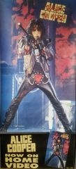 Vintage 1990 Alice Cooper Trashes The World Promotional Poster