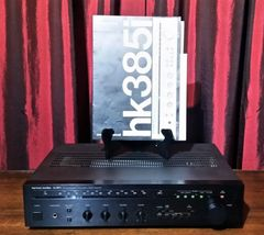Vintage 1986 Harman Kardon HK385i Linear Phase Stereo Receiver PHONO Hook Up
