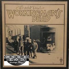 The Grateful Dead Workingman's Dead 1980 US Warner Bros. Records WS 1869 Vintage Vinyl Record Album