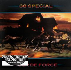 Vintage 38 Special Tour De Force First Year Pressing 1983 US A&M Records SP-4971 Vintage Vinyl LP Record Album