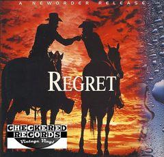 "Vintage NewOrder Regret 12"" First Year Pressing Qwest Records 0-40760 Vintage Vinyl LP Record"