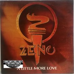 "Vintage Zeno A Little More Love 12"" 1986 UK Import Parlophone 12R 6123 Vintage Vinyl LP Record Album"