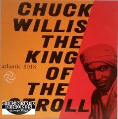 Vintage Chuck Willis ‎King Of The Stroll 1962 US Atlantic 8018 Vintage Vinyl LP Record Album