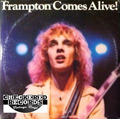Vintage Peter Frampton Frampton Comes Alive! First Year Pressing 1976 US A&M SP-3703 Vintage Vinyl LP Record Album