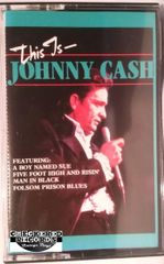 Vintage Johnny Cash This Is Johnny Cash 1985 US The Special Music Company, CBS Special Productions CBK 3014 Cassette Tape