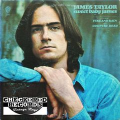 James Taylor Sweet Baby James First Year Pressing 1970 US Warner Bros. Records WS 1843 Vintage Vinyl Record Album