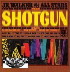 Vintage Jr. Walker And The All Stars Shotgun First Year Pressing 1965 US Soul SOUL 701 Vintage LP Vinyl Record Album