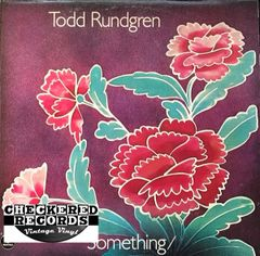 Vintage Todd Rundgren Something / Anything? Rare Non-numbered Pitman Pressing 1972 US Bearsville 2BX 2066 Vintage Vinyl LP Record Album