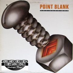 Vintage Point Blank The Hard Way First Year Pressing 1980 US MCA Records MCA-5114 Vintage Vinyl LP Record Album