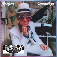 Vintage Elton John Greatest Hits First Year Pressing 1974 US MCA Records MCA 2128 Vintage Vinyl LP Record Album