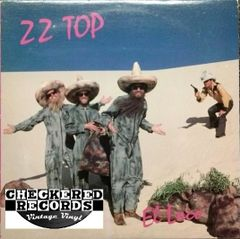 Vintage ZZ Top El Loco First Year Pressing 1981 US Warner Bros Records BSK 3593 Vintage LP Vinyl Record Album