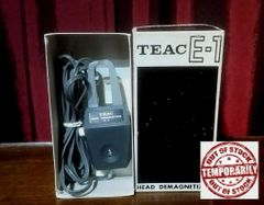 TEAC E-1 Reel-To Reel Tape Deck Head Demagnetizer