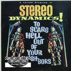 Vintage Stereo Dynamics! To Scare Hell Out Of Your Neighbors First Year Pressing 1962 US Somerset SF-11400 Vintage Vinyl LP Record Album