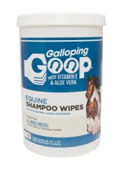 GALLOPING GOOP RINSE FREE SHAMPOO WIPES