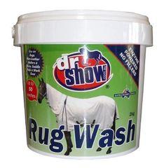 Dr Show Rug Wash 2Kg Tub, 2Kg refill, 1Kg refill