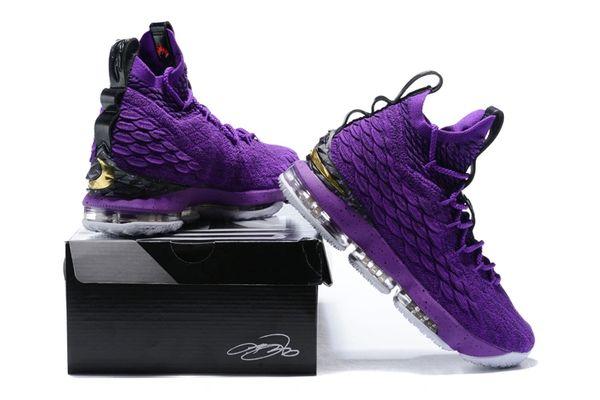 d0432403f4acb New Purple LBJ 15 Lebron NBA Basketball Sneakers | The Human Race  Fashion-Sportswear & Accessories L V Club outfits