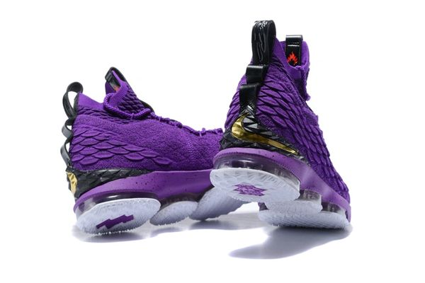 71c55486b4ef1 New Purple LBJ 15 Lebron NBA Basketball Sneakers | The Human Race ...