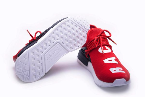 9e97332e77f Adidas X Pharrell Williams NMD HU Human Race new Red   Black Ath ...