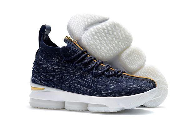 b814bf0260e72 2018 Lebron XV Blue   Jeans - Lebron James 15 NBA - Basketball sneakers