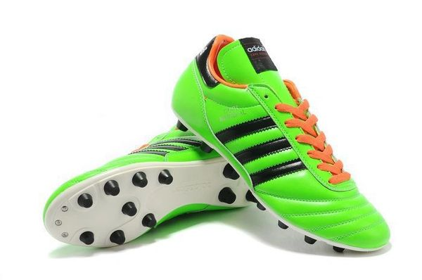 c4efc9d365ebc9 Green Original Adidas Copa Mundial Leather FG West Germany Cleat ...