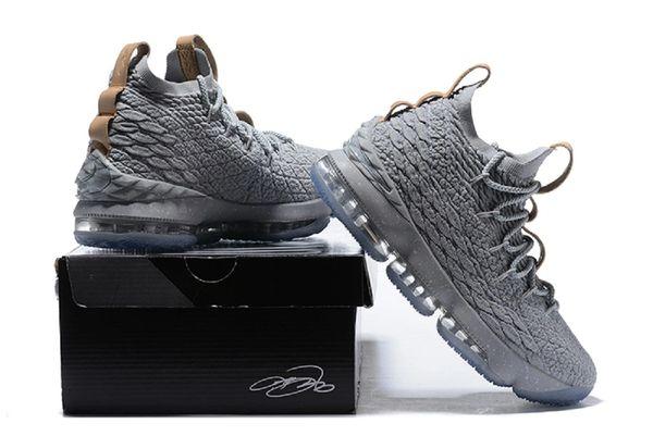 e6583799a00e 2018 Nike Lebron XV Ghost- Basketball Shoes