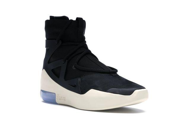 e875c79d7 2018 Nike Air Fear Of God 1 Black AR4237-001   The Human Race  Fashion-Sportswear & Accessories L V Club outfits