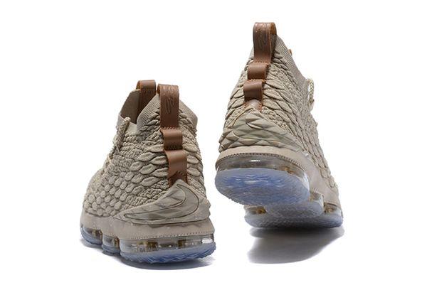 purchase cheap 0b91c e01fc 2018 Nike Lebron XV Brown - Basketball Shoes,Lebron James BROWN 15 sneakers