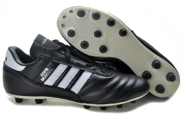 f8f6188f18f9f6 Black Original Adidas Copa Mundial Leather FG West Germany Cleats ...