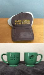 SIMON JOYNER Embroidered Trucker Hat & 7.5 oz Mug COMBO