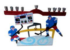 Hockey Menorah
