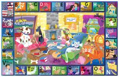 Cat and Dog Alphabet Placemat
