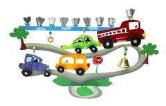 Car & Truck Menorah