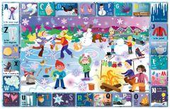 Winter Alphabet Placemat