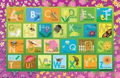 Garden Alphabet Placemat