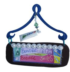 Beautiful Teeth Mini Plaque