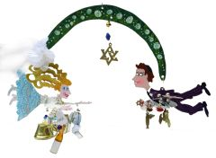 Wedding Double Fanciful Flight- Judaic