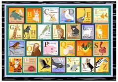 Animal Alphabet Placemat