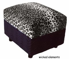 Funky Ottoman (small)