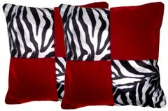 Checkered Pillow Set