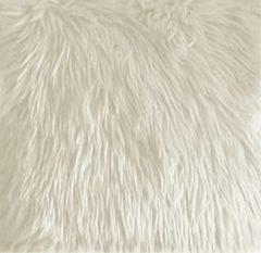 Faux Fur White Fabric