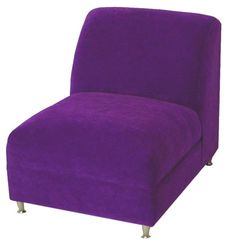 Armless Contemporary Chair