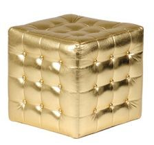Sunset Gold Cube Seat