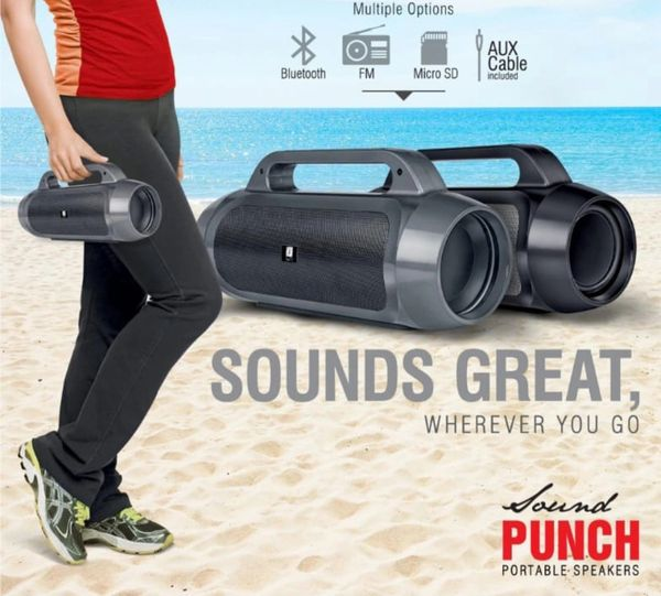 Iball BT speaker sound punch