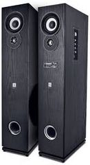iball Karaok Studio L8 W 80 Bluetooth Tower Speaker (Black, Stereo Channel)