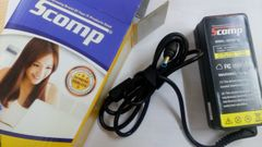 Scomp Laptop adapter compatible For HP 18.5V 3.33A (blue tip)65W