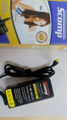 Scomp Laptop adapter compatible For Acer 65W (yellow pin)
