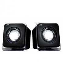 Terabyte E-02B (USB powered) 2.0 mini Desktop Speakers - Black