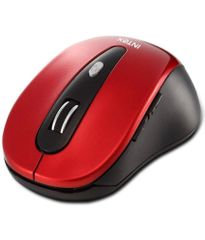 Intex Shiny Wireless Mouse Red