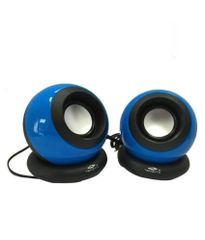 Terabyte Clarion tb-008 2.0 Speakers - Blue